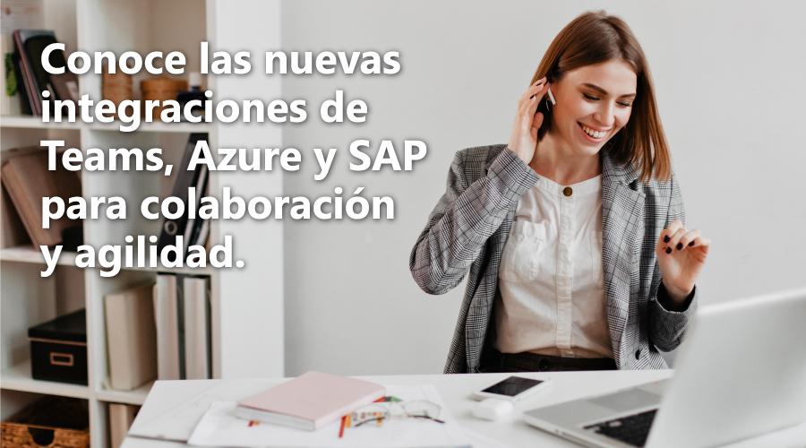 integraciones de Teams, Azure y SAP